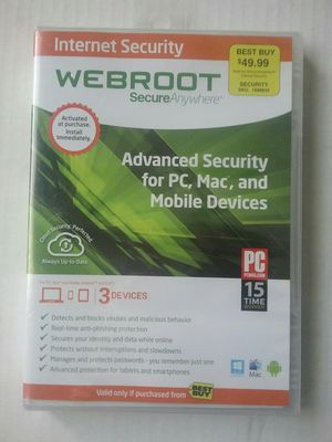 Internet Security - Webroot Secure Anywhere for Sale in Oregon City, OR