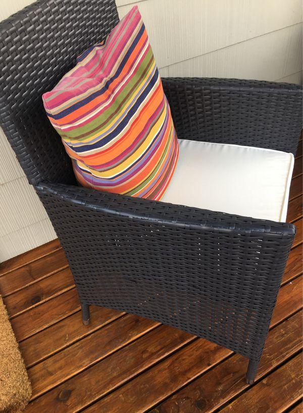 Wicker Rattan Brand New Outdoor Patio Chair