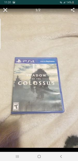 Ps4 shadow of Colossus for Sale in Los Angeles, CA