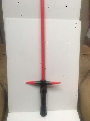 Star Wars lights&sound Kylo ren lightsaber force fx for Sale in Dallas, TX