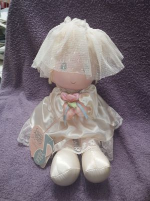 Precious moments musical wind up bride for Sale in Lawrenceville, GA