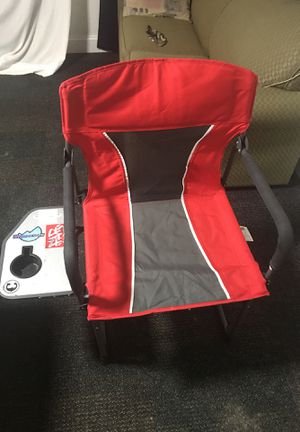 Foldable beach chair with cup holder for Sale in North Chesterfield, VA