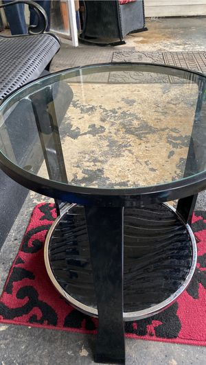 Side table black for Sale in Columbia, SC