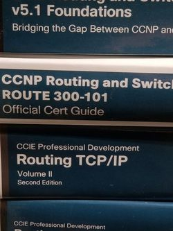 Cisco Networking books for Sale in Austin,  TX
