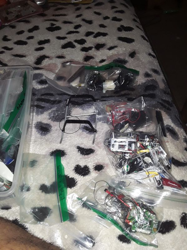 Small Helicopter parts