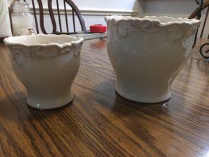 Ceramic planter set for Sale in Magnolia, TX