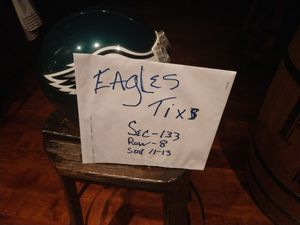 Eagles tixs..home opener and Seattle.. for Sale in Little Egg Harbor Township, NJ