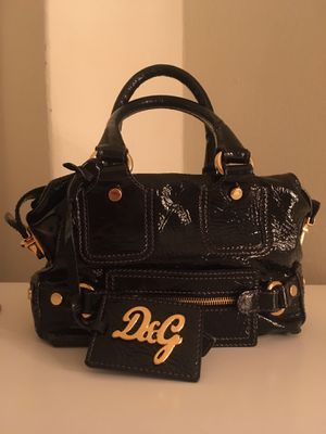 D & G Dolce and Gabanna Black Bag for Sale in New Rochelle, NY