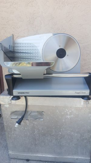 Waring Pro Food Slicer. F150FR $50. for Sale in San Diego, CA