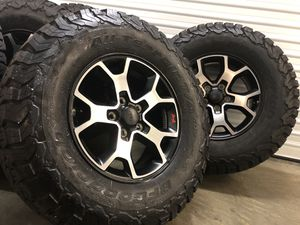 Jeep wrangler Rubicon jl 2019 Wheels Rims Tires Rines OEM Factory for Sale in Hawthorne, CA