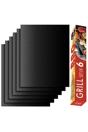 Brand-new!!! Grill Mat (Set 6) - 100% Non-Stick BBQ Grill Mats, 15.75 x 13Inch for Sale in Doral, FL