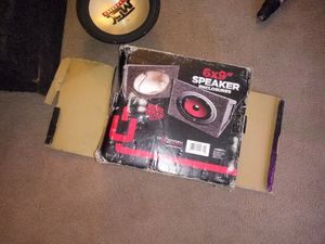 Pair of 6×9 speaker boxes for Sale in Newark, OH