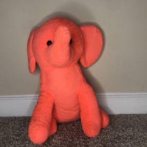 Pink Stuffed Elephant for Sale in Lawrenceville, GA