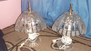 Glass vintage lamps for Sale in Fresno, CA