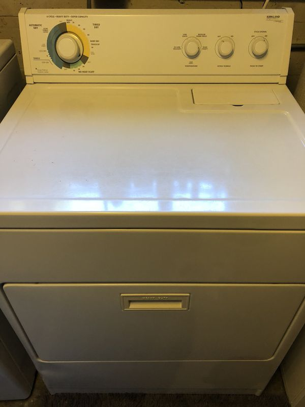 Kirkland Signature By Whirlpool Corp Electric Dryer For