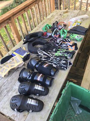 Motocross / dirt biking gear lot for Sale in Gig Harbor, WA