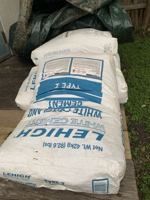 Cement and Pool Plaster for Sale in San Antonio, TX