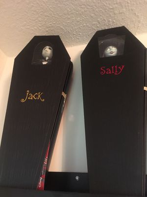 Doll size jack and sally NBC nightmare before Christmas. for Sale in Orlando, FL