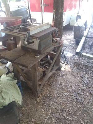 Craftsmen 10 in antique table saw for Sale in Webster, FL