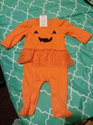 Halloween baby costume ounzie size 3 months for Sale in Columbus, OH