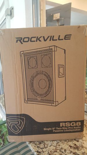 "Rockville RSG8 Speakers 8"" for Sale in Fort Lauderdale, FL"