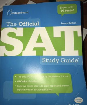 CollegeBoard SAT Study Guide for Sale in West Springfield, VA