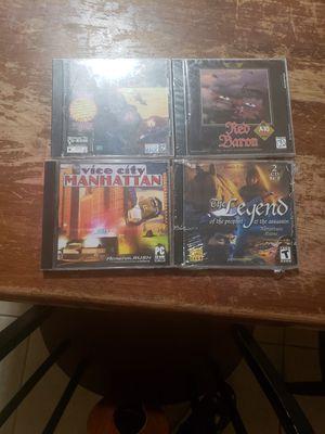 4 PC games for Sale in Carson, CA