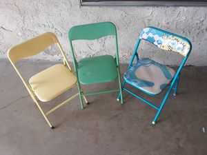 3 CHAIR FOR LITTLE KIDS for Sale in Garden Grove, CA