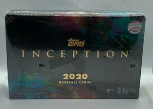 2020 Topps Inception Factory Sealed Hobby Box. for Sale in Santa Ana, CA