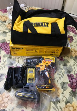Dewalt 1/2 Drill Brushless 20V.! Combo kit battery 🔋 and charger 🔌 and contractor bag 💼.!! 🔥 brand new.! for Sale in San Jacinto, CA