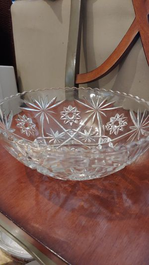 Crystal bowl #2 for Sale in Gaithersburg, MD