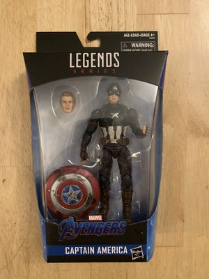 Marvel Legends Walmart Exclusive Captain America Worthy for Sale in Naperville, IL