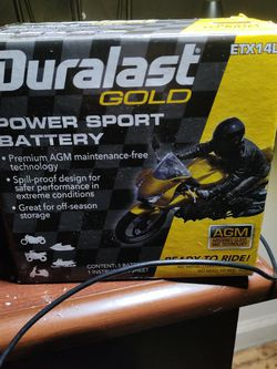 Duralast Gold Power Sports Battery for Sale in Fresno,  CA