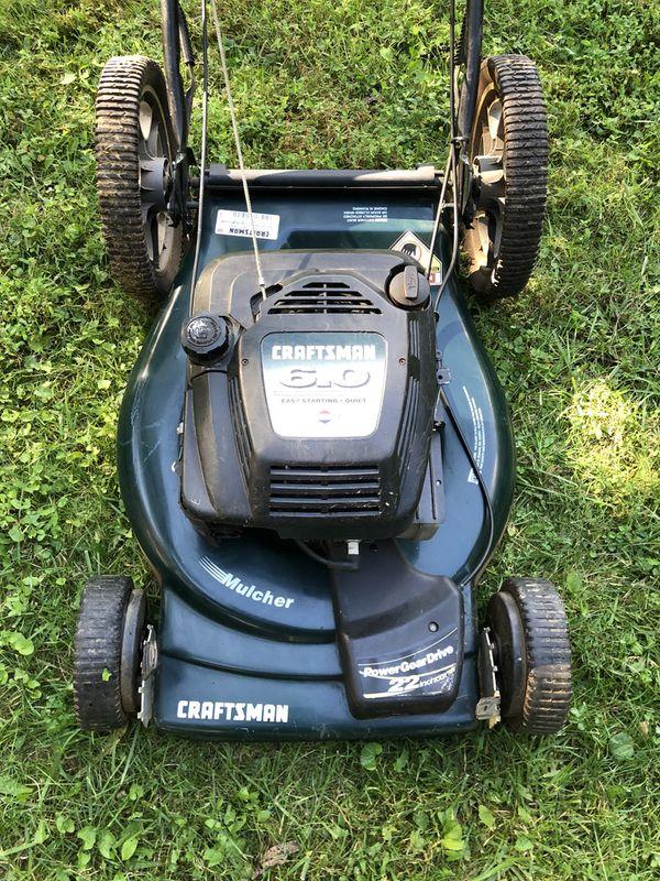 Craftsman Lawn Mower Self-Propelled