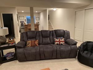 Combination of Reclining theater chairs can be purchased together = 5 seats for Sale in Aurora, CO