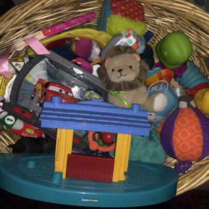 Large basket of baby toys for Sale in Peoria, AZ