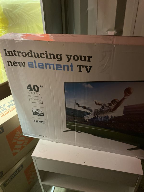 40 inch element LED TV