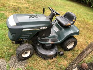 Craftsman LT1000 riding mower for Sale in Stanwood, WA