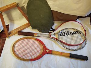 Vintage Tennis rackets for Sale in Huntington, NY