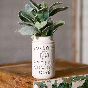 Vintage inspired Mason Jar Vase for Sale in Brooklyn, NY