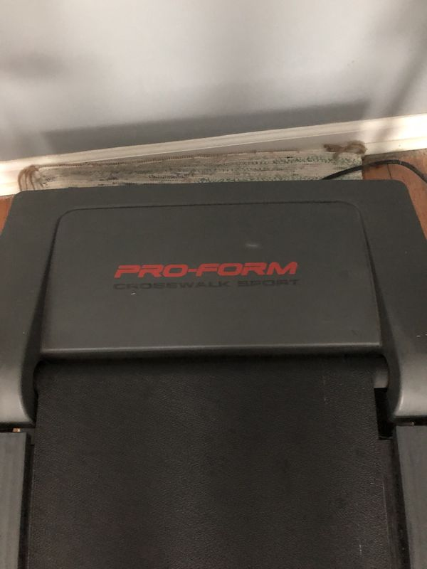 ProForm CrossWalk Sport Treadmill