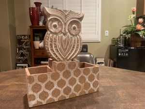 Home Decor owl for Sale in March Air Reserve Base, CA