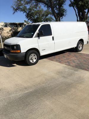 2004 Chevrolet Chevy express van extended cargo 3500. Odometer was rolled back. for Sale in Houston, TX