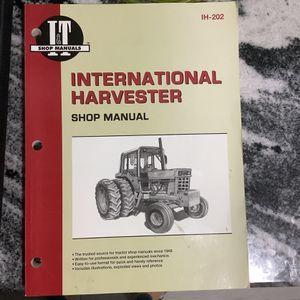 International Harvester Manual, 544, 656, Hydo 70 & more Farmer Bob's Parts IH202 for Sale in Fort Pierce, FL