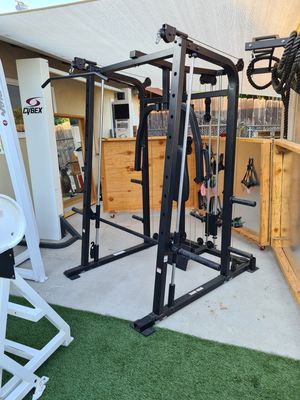 Smith Machine for squat, lat pull down row curls tricep push down bench press fly for Sale in San Diego, CA