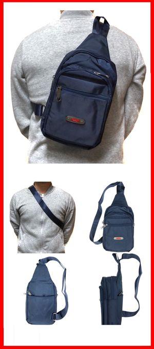 NEW! Med. Side Bag Crossbody bag chest bag satchel sling gym pouch biking hiking day pack edc backpack travel bag for Sale in Carson, CA
