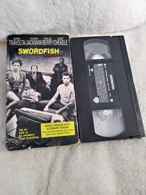 Swordfish (NEW VHS 2001) John Travolta, Hugh Jackman, Halle Berry, Bonus Footage for Sale in Homestead, FL
