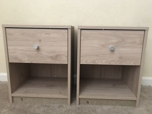 Two Nightstands for Sale in Fresno, CA