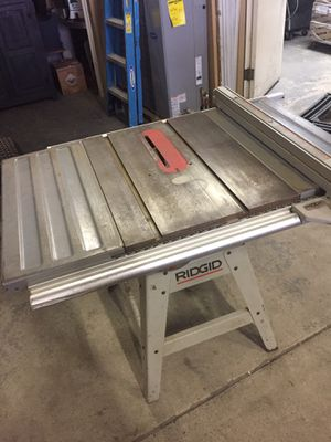 Ridged table saw used still works good for Sale in Bryn Athyn, PA