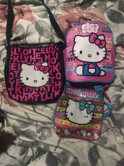 Hello Kitty kids bags for Sale in Hollister,  CA